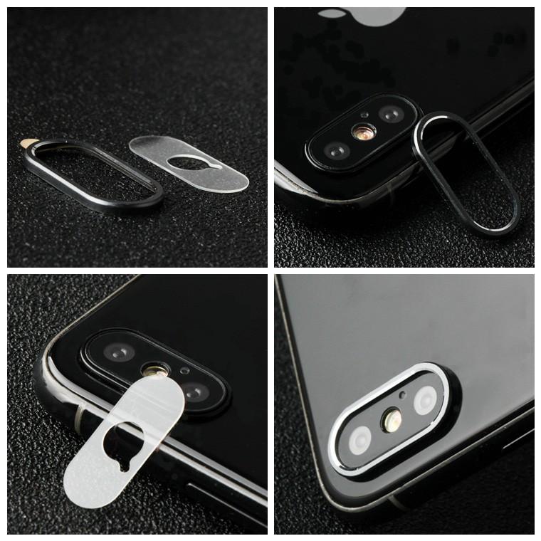 iPhoneX カメラ保護 ガラス