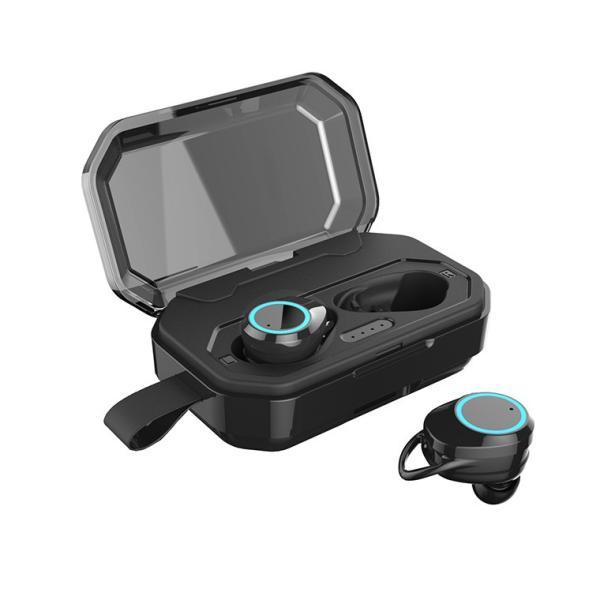 ワイヤレス イヤホン Bluetooth 5.0 ワイヤレス イヤホン ランニング イヤホン ブルートゥース iPhone 充電 モバイルバッテリー マグネット 無線|smahoservic|16