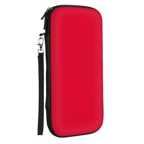液晶保護シート付き Nintendo Switch ケース ニンテンドースイッチ カバー ポーチ ポータブル セミハード Nintendo Switch ゲームカード収納 EVAポーチ smahoservic 12