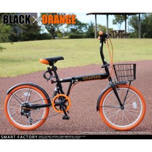 折りたたみ自転車 20インチ シマノ製6段ギア 15色 折り畳み自転車 折畳自転車 カゴ付き 小径車 ミニベロ 自転車 通販 おしゃれ 送料無料 smart-factory 28