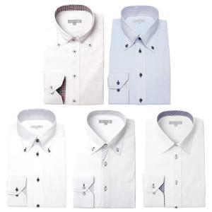 ワイシャツ メンズ 5枚セット 長袖 Yシャツ デザインにこだわった長袖ワイシャツ 形態安定 ビジネス|smartbiz|21