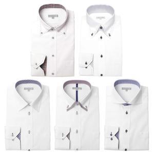 ワイシャツ メンズ 5枚セット 長袖 Yシャツ デザインにこだわった長袖ワイシャツ 形態安定 ビジネス|smartbiz|22