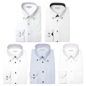 ワイシャツ メンズ 5枚セット 長袖 Yシャツ デザインにこだわった長袖ワイシャツ 形態安定 ビジネス|smartbiz|24