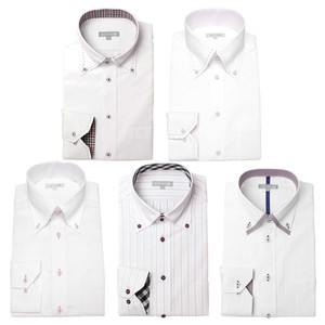 ワイシャツ メンズ 5枚セット 長袖 Yシャツ デザインにこだわった長袖ワイシャツ 形態安定 ビジネス|smartbiz|25
