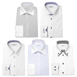 ワイシャツ メンズ 5枚セット 長袖 Yシャツ デザインにこだわった長袖ワイシャツ 形態安定 ビジネス|smartbiz|27