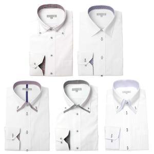 ワイシャツ メンズ 5枚セット 長袖 Yシャツ デザインにこだわった長袖ワイシャツ 形態安定 ビジネス|smartbiz|28