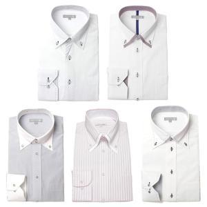 ワイシャツ メンズ 5枚セット 長袖 Yシャツ デザインにこだわった長袖ワイシャツ 形態安定 ビジネス|smartbiz|29
