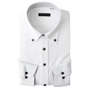 返品OK ニットシャツ ワイシャツ 長袖 ノンアイロン 超形態安定 伸びるノーアイロン 男性 Yシャツ 伸縮性 動きやすい ゴルフ クールビズ カッターシャツ|smartbiz|20