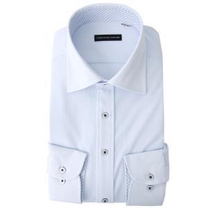 返品OK ニットシャツ ワイシャツ 長袖 ノンアイロン 超形態安定 伸びるノーアイロン 男性 Yシャツ 伸縮性 動きやすい ゴルフ クールビズ カッターシャツ|smartbiz|22