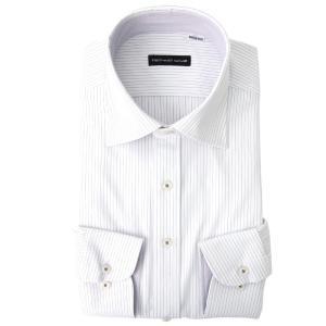 返品OK ニットシャツ ワイシャツ 長袖 ノンアイロン 超形態安定 伸びるノーアイロン 男性 Yシャツ 伸縮性 動きやすい ゴルフ クールビズ カッターシャツ|smartbiz|27