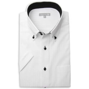 ワイシャツ メンズ 半袖 1枚から自由に選べる 5枚以上で送料無料 Yシャツ クールビズ 半袖シャツ セット ボタンダウン ホワイト ブルー 夏 涼しい おしゃれ|smartbiz|15