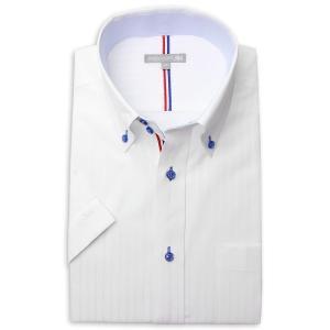 ワイシャツ メンズ 半袖 1枚から自由に選べる 5枚以上で送料無料 Yシャツ クールビズ 半袖シャツ セット ボタンダウン ホワイト ブルー 夏 涼しい おしゃれ|smartbiz|16