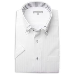 ワイシャツ メンズ 半袖 1枚から自由に選べる 5枚以上で送料無料 Yシャツ クールビズ 半袖シャツ セット ボタンダウン ホワイト ブルー 夏 涼しい おしゃれ|smartbiz|17