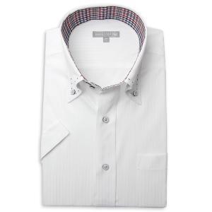 ワイシャツ メンズ 半袖 1枚から自由に選べる 5枚以上で送料無料 Yシャツ クールビズ 半袖シャツ セット ボタンダウン ホワイト ブルー 夏 涼しい おしゃれ|smartbiz|24