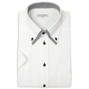 ワイシャツ メンズ 半袖 1枚から自由に選べる 5枚以上で送料無料 Yシャツ クールビズ 半袖シャツ セット ボタンダウン ホワイト ブルー 夏 涼しい おしゃれ|smartbiz|26