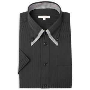 ワイシャツ メンズ 半袖 1枚から自由に選べる 5枚以上で送料無料 Yシャツ クールビズ 半袖シャツ セット ボタンダウン ホワイト ブルー 夏 涼しい おしゃれ|smartbiz|29