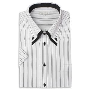 ワイシャツ メンズ 半袖 1枚から自由に選べる 5枚以上で送料無料 Yシャツ クールビズ 半袖シャツ セット ボタンダウン ホワイト ブルー 夏 涼しい おしゃれ|smartbiz|30