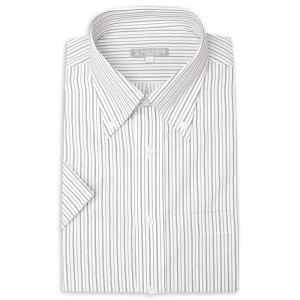 ワイシャツ メンズ 半袖 1枚から自由に選べる 5枚以上で送料無料 Yシャツ クールビズ 半袖シャツ セット ボタンダウン ホワイト ブルー 夏 涼しい おしゃれ|smartbiz|32