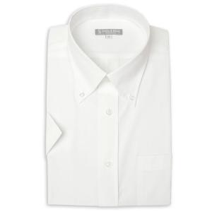 ワイシャツ メンズ 半袖 1枚から自由に選べる 5枚以上で送料無料 Yシャツ クールビズ 半袖シャツ セット ボタンダウン ホワイト ブルー 夏 涼しい おしゃれ|smartbiz|33