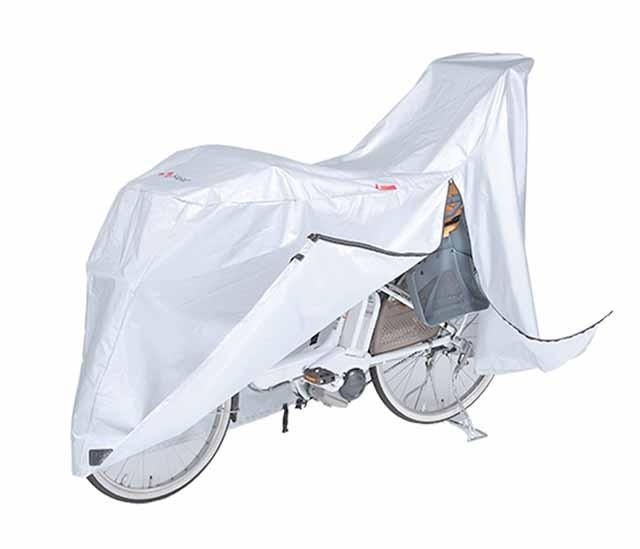 サイクルカバー 幼児2人同乗用電動アシスト車対応 KW-379ASSL