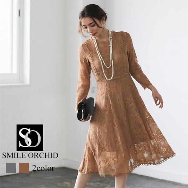 ワンピース パーティードレス ドレス レース 結婚式 yimo16658|smileorchid|17