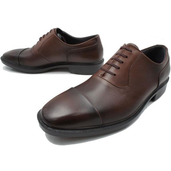 通勤快足 メンズ 紳士靴 ビジネスシューズ TK3309 日本製 GORE-TEX ストレートチップ         3E|smw|04