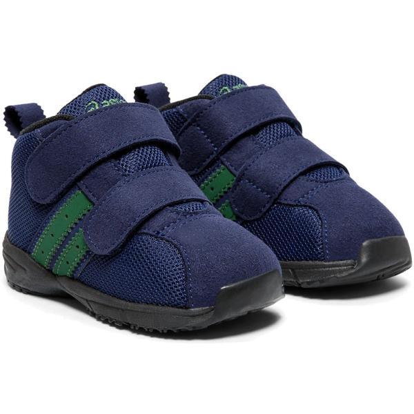アシックス asics コンフィ ベビー MS FW スニーカー 男の子 女の子 子供靴 キッズ TUB170 ファーストシューズ キッズシューズ ベルクロ ミッドカット ベビー靴 smw 04