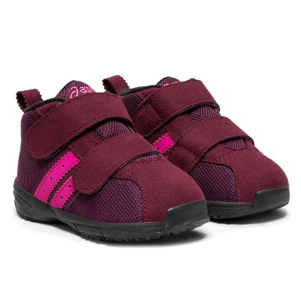 アシックス asics コンフィ ベビー MS FW スニーカー 男の子 女の子 子供靴 キッズ TUB170 ファーストシューズ キッズシューズ ベルクロ ミッドカット ベビー靴 smw 05