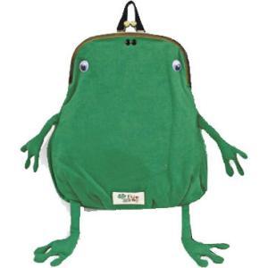 フロックフロッグFluke Frog メンズ レディース G321357 カエルガマリュック gymmaster ジムマスター がま口 ガマグチ 蛙 カジュアル バッグ シューマートワールド