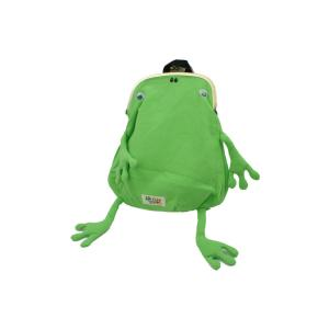 gym master ジムマスターFluke Frog フロックフロッグ レディース キッズ ジュニア バッグ G621354 カエルガマミニリュック がま口 ガマグチ 蛙 かわいい シューマートワールド