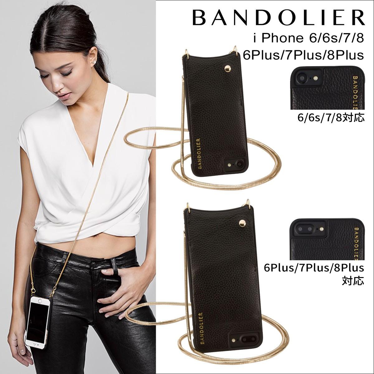BANDOLIER バンドリヤー iPhone7 7Plus 6s ケース スマホ アイフォン プラス レザー メンズ レディース [9/5 新入荷]