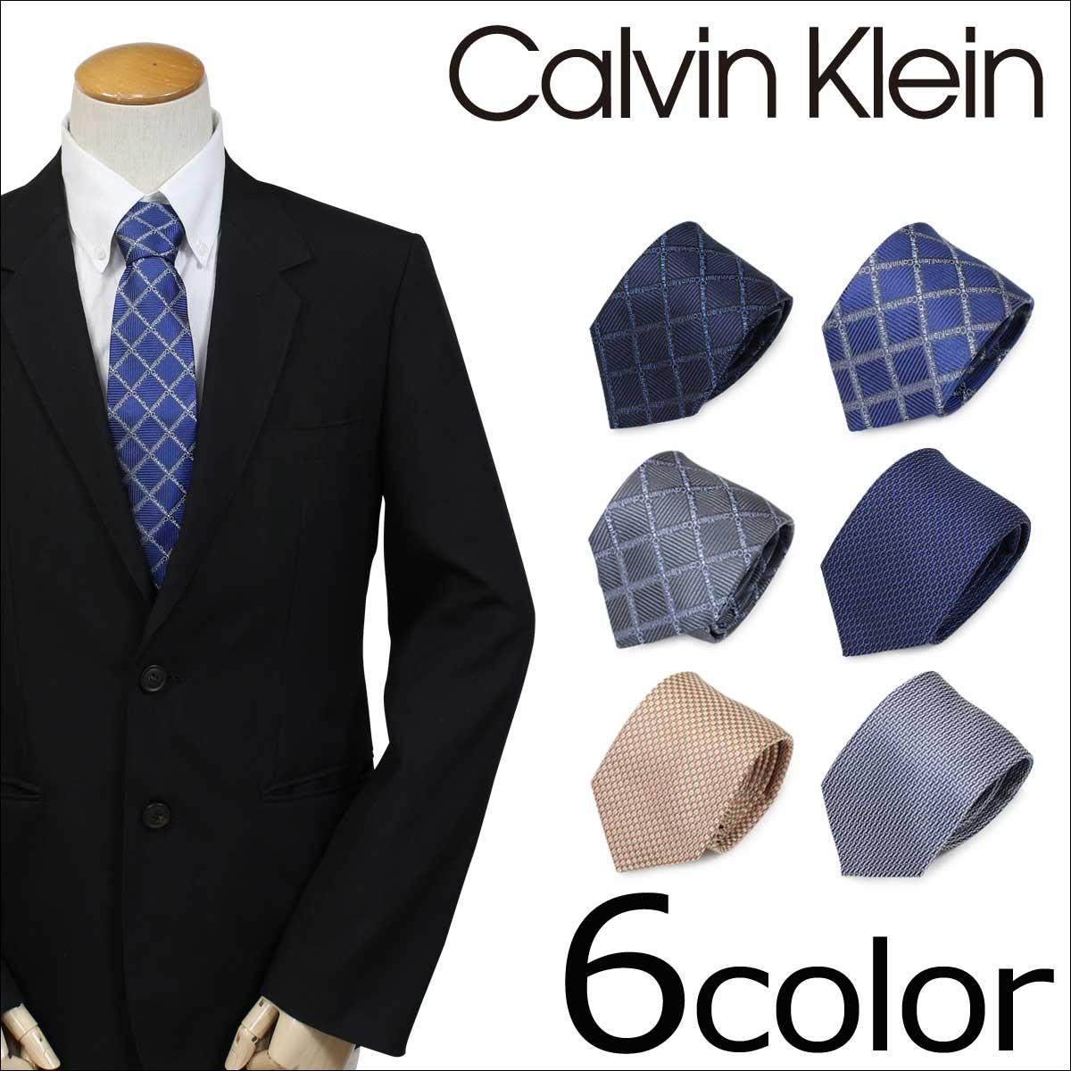 カルバンクライン ネクタイ シルク Calvin Klein メンズ CK ビジネス 結婚式 [1/25 追加入荷]