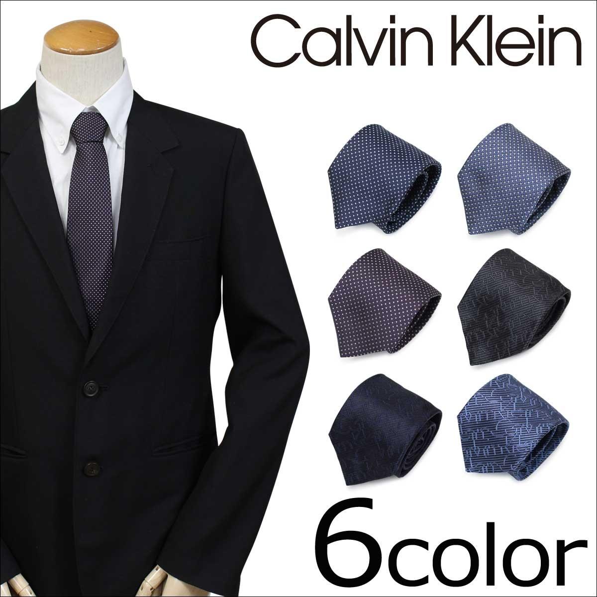 カルバンクライン ネクタイ シルク Calvin Klein メンズ CK ビジネス 結婚式 [1/9 追加入荷]
