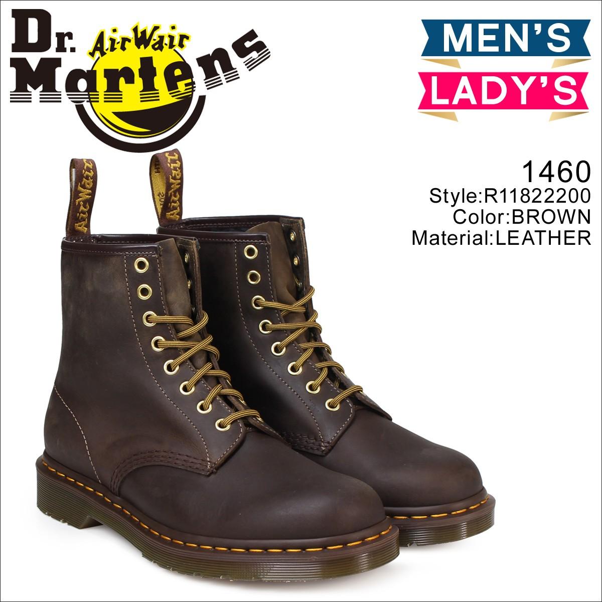 ドクターマーチン 8ホール 1460 メンズ レディース Dr.Martens ブーツ 8EYE BOOT R11822200 [8/2 追加入荷]