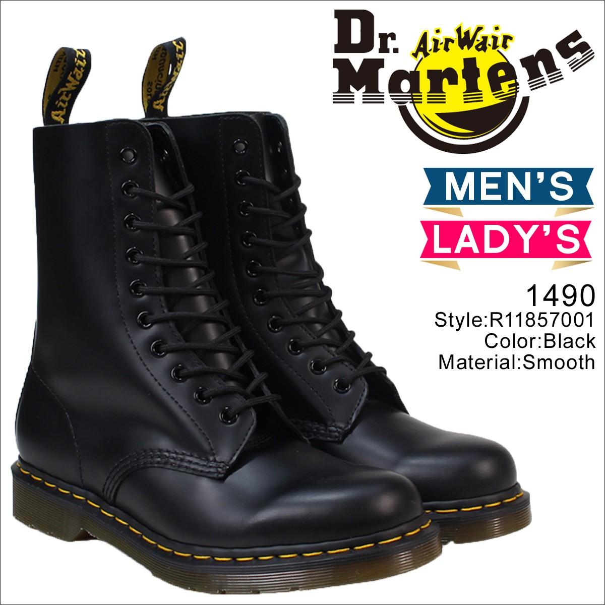 ドクターマーチン 10ホール メンズ レディース Dr.Martens 1490 ブーツ  10EYE BOOT  R11857001 [8/21頃 追加入荷]