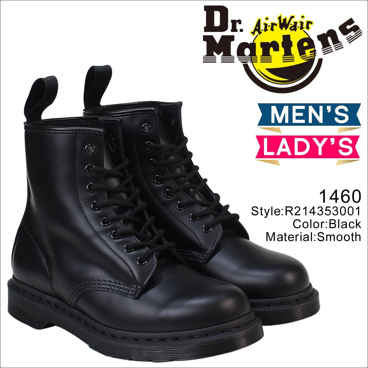ドクターマーチン 8ホール 1460 メンズ レディース Dr.Martens ブーツ  8EYE MONO BOOT  R14353001 [8/21頃 追加入荷]
