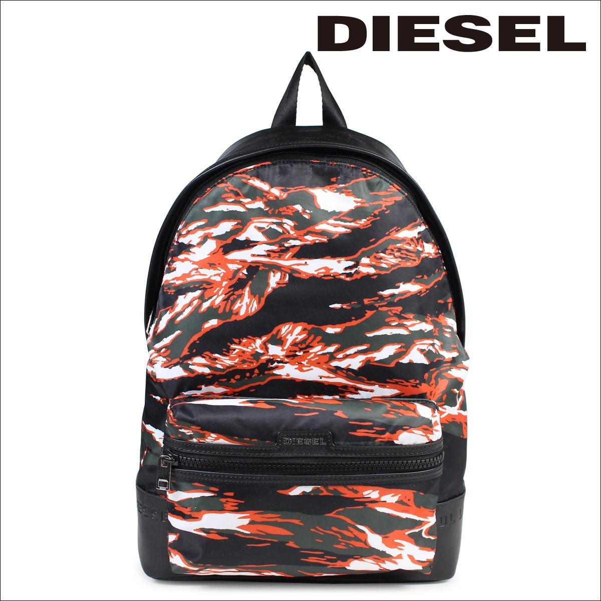 ディーゼル DIESEL リュック バッグ メンズ レディース バックパック M-JUNGLE BACK X03785 P0151 オレンジカモフラ