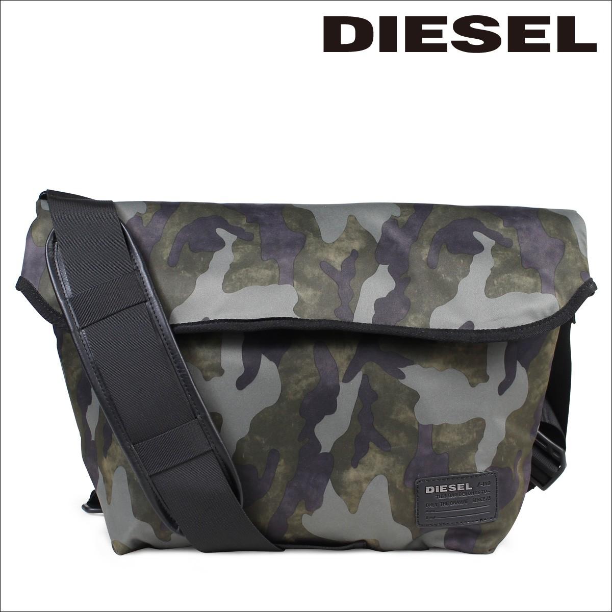 ディーゼル DIESEL バッグ ショルダーバッグ メンズ レディース メッセンジャーバッグ F-CLOSE CROSS X04326 PR027 H5254 カモフラージュ