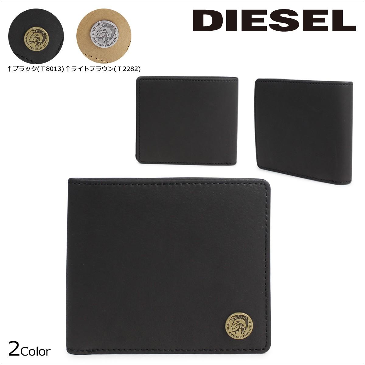 ディーゼル 財布 メンズ DIESEL 二つ折り HIRESH S X04373 PR013 2カラー [1/23 追加入荷]