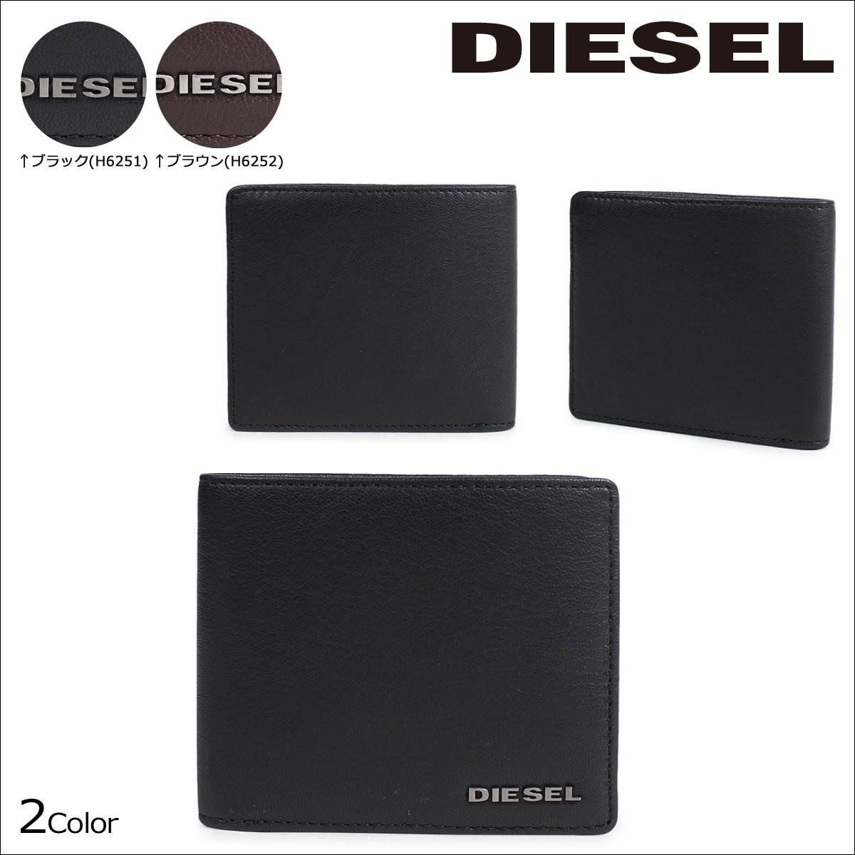 ディーゼル 財布 メンズ DIESEL 二つ折り HIRESH S X04459 PR013 2カラー