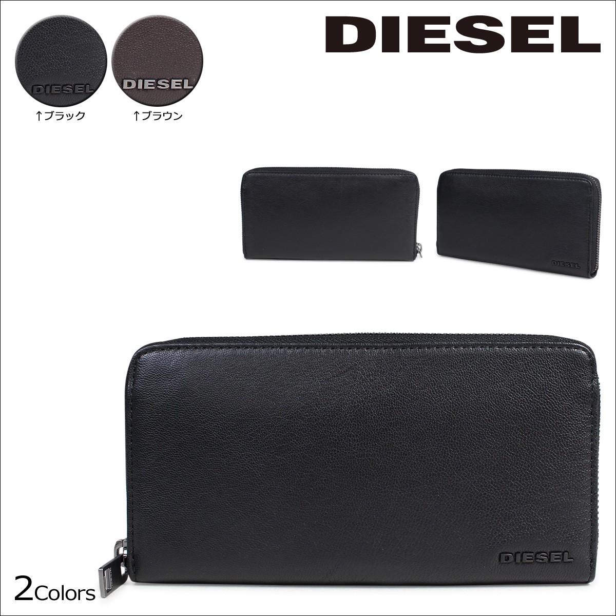 ディーゼル 財布 メンズ DIESEL 長財布 ラウンドファスナー 24 ZIP X04458 PR227 2カラー