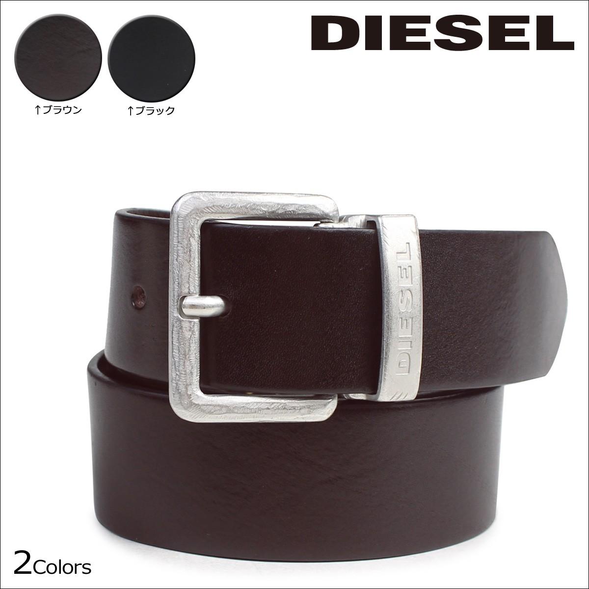 ディーゼル ベルト DIESEL メンズ バックル レザーベルト 本革 牛革 カジュアル ヴィンテージ BERES X03716 PR227 2カラー