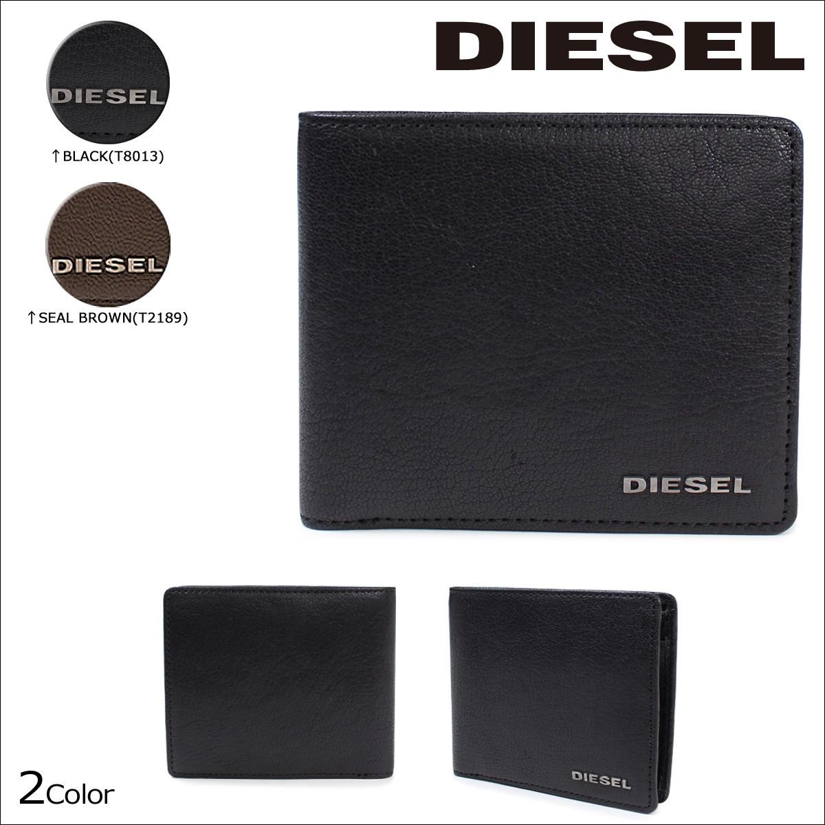 ディーゼル 財布 メンズ DIESEL 二つ折り HIRESH S X03925 PR271 [1/16 追加入荷]