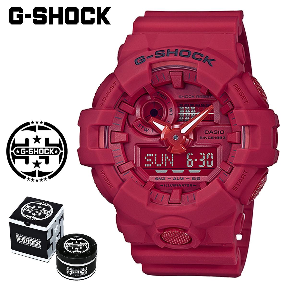 カシオ CASIO G-SHOCK 腕時計 GA-735C-4AJR RED OUT 35周年 ジーショック Gショック G-ショック レッド メンズ レディース [1/19 新入荷]