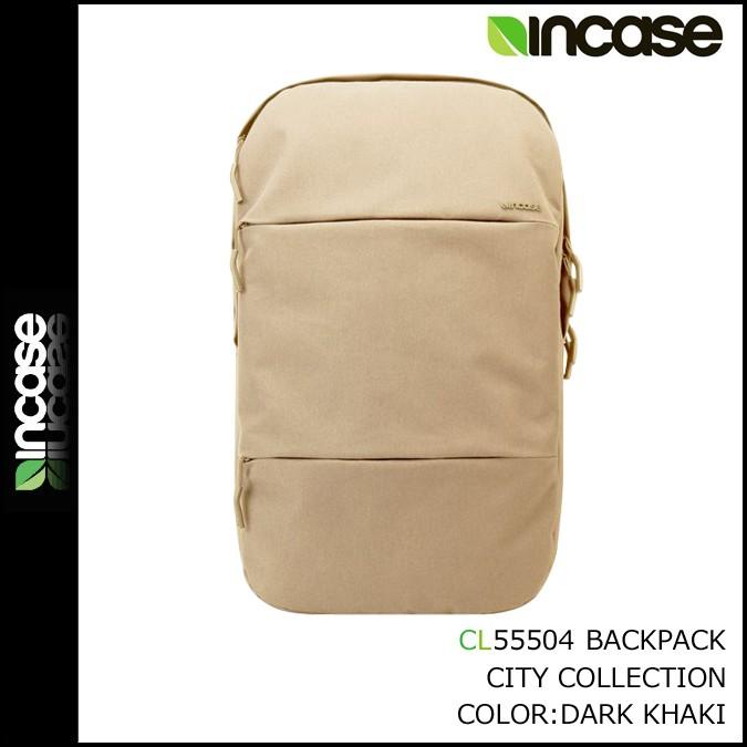 インケース INCASE バックパック リュック CL55504 ダークカーキ INCASE CITY COLLECTION BACKPACK メンズ