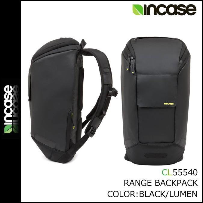 インケース INCASE バックパック リュック レンジ コレクション CL55540 ブラック RANGE BACKPACK -NEW CMF メンズ [1/25 再入荷]