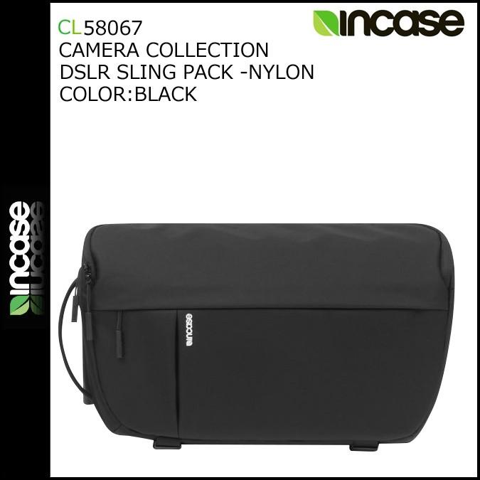 INCASE インケース カメラバッグ ワンショルダー 一眼レフ CL58067 ブラック DSLR SLING PACK -NYLON メンズ [1/17 再入荷]