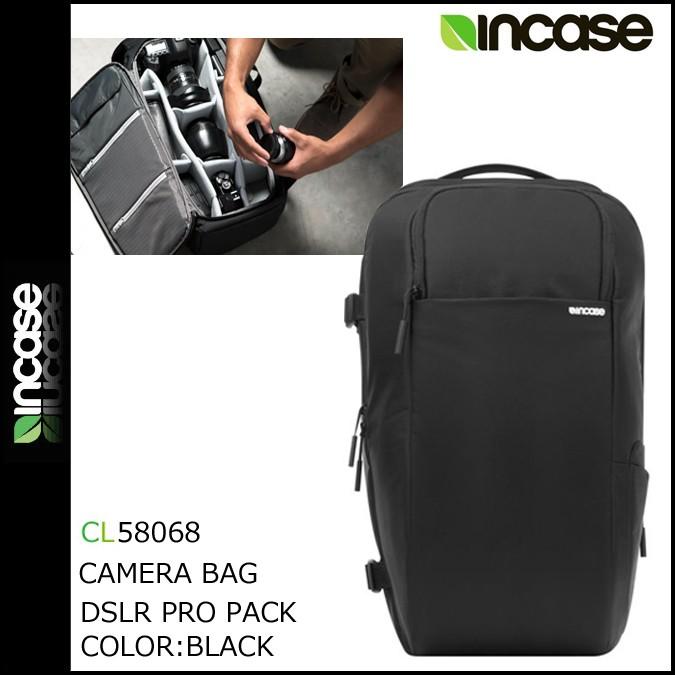 インケース INCASE カメラバッグ バックパック リュック CL58068 ブラック DSLR PRO PACK -NYLON メンズ [1/25 再入荷]