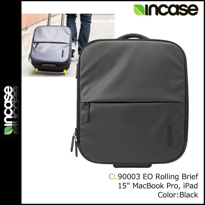 インケース INCASE キャリーバッグ スーツケース キャリーケース CL90003 ブラック EO TRAVEL ROLLING BRIEF メンズ