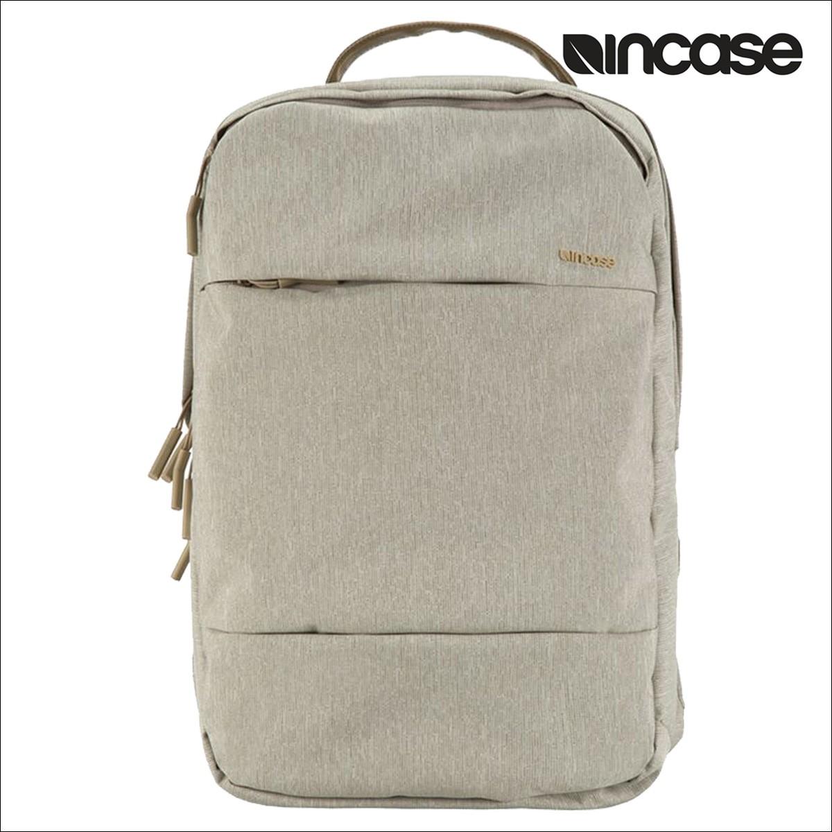 INCASE インケース バックパック リュック 19L CITY BACKPACK INCO100207 レディース メンズ ヘザーカーキ [4/11 新入荷]